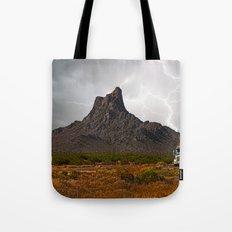 Monsoon Ghost Run to Tucson Tote Bag