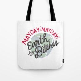 Mayday! Tote Bag