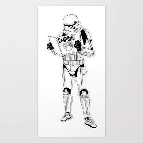Stormtrooper Empire  Art Print