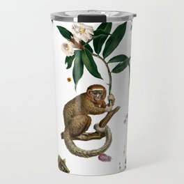Monkey World: Amber-Ella - White Travel Mug