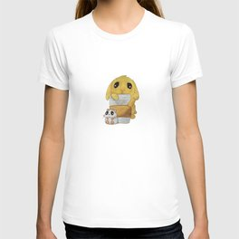 My loves - bunny, hamster and coffee T-shirt