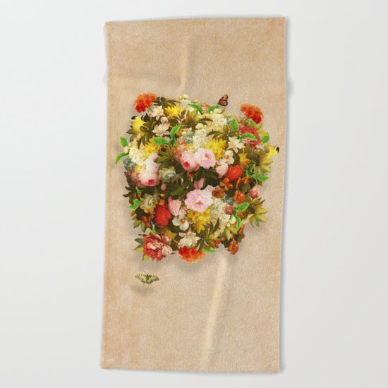 Flourishing Bliss Beach Towel