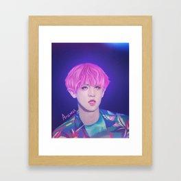 EXO - Chanyeol Framed Art Print