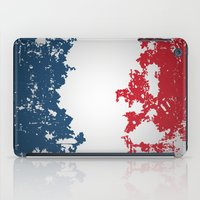 france iPad Cases featuring France by Flat Design