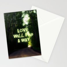 Love will find a Way Stationery Cards
