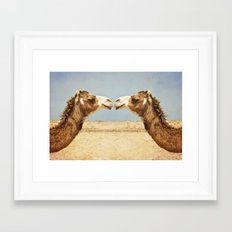 Love and Affection Framed Art Print