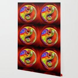 Yin Yang Colorful Serenity Wallpaper