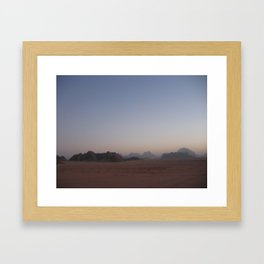 Valley of the Moon Framed Art Print