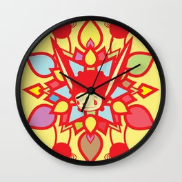 LOTUS HOLIC Wall Clock