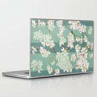 sakura Laptop & iPad Skins featuring Sakura by Maria Durgarian
