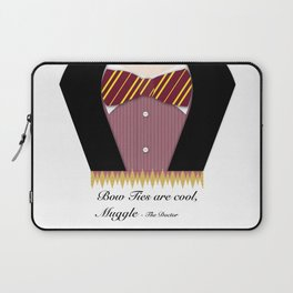 Dr Who meets Potter Laptop Sleeve