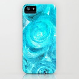 Blue Roses 727 iPhone Case