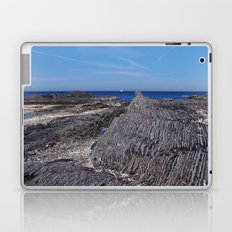 Rock Layers and the Sea Laptop & iPad Skin