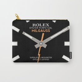 Rolex Milgauss - 116400 - Black Dial Carry-All Pouch