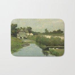 Summer Day By Johan Hendrik Weissenbruch | Reproduction Bath Mat