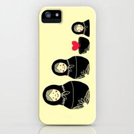 Love Inside iPhone Case