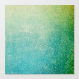 Jade Ombre Canvas Print