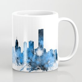 Melbourne Australia Skyline Coffee Mug