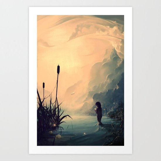 Evanescent Sunrise Art Print