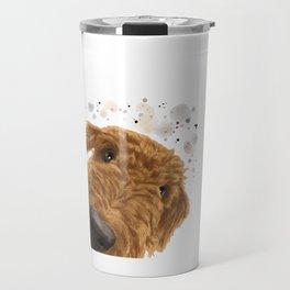 Airedale Terrier Dog Travel Mug