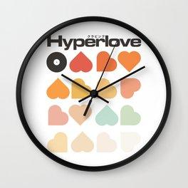 Hyperlove Wall Clock