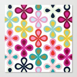 Drop Flower #1 Canvas Print
