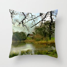 Butler's Retreat, Epping Forest, United Kingdom Throw Pillow
