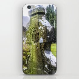 Travel to Ireland: Glendalough's Rest iPhone Skin