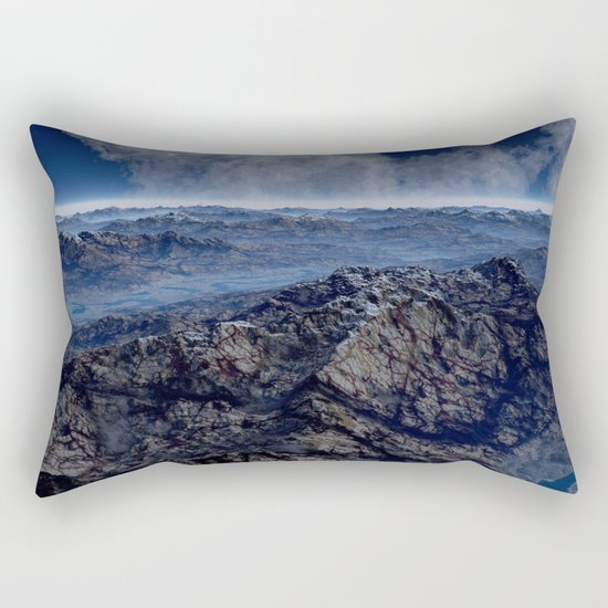 Welcome To Planet X Rectangular Pillow