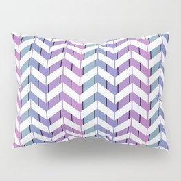 Zigzag striped pattern.2 Pillow Sham
