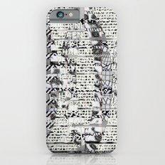 The Eternal Return Of The Unique Event (P/D3 Glitch Collage Studies) Slim Case iPhone 6s