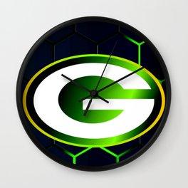 Green Bay Pack Print Wall Clock