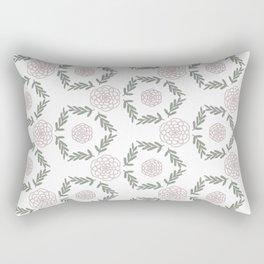 Flower wreath Rectangular Pillow