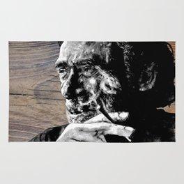 Hank on wood Rug