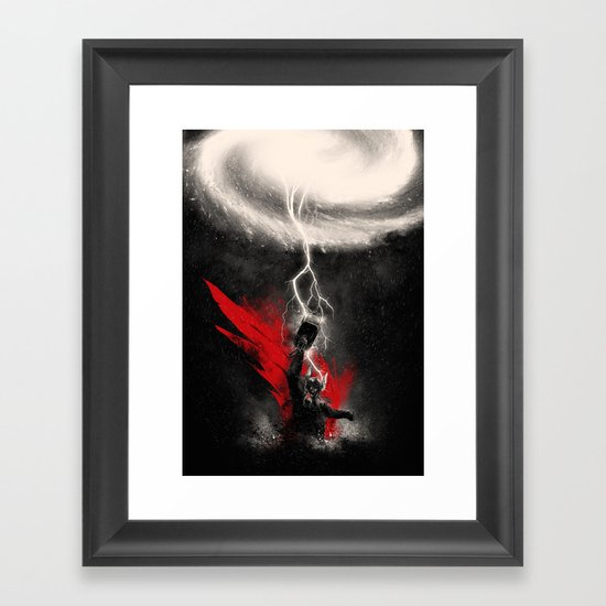 The Mightiest Framed Art Print