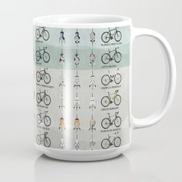 Pro Cycling Teams Coffee Mug