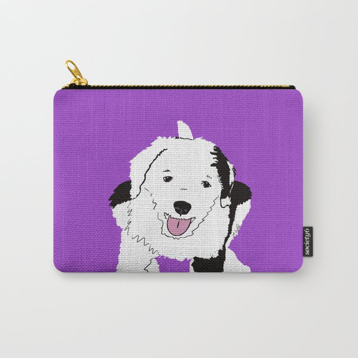 Gypsy The Sheepadoodle Carry-All Pouch