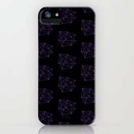 Matchsticks geometry iPhone Case