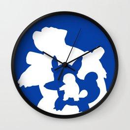 Minimalist Blastoise Wall Clock