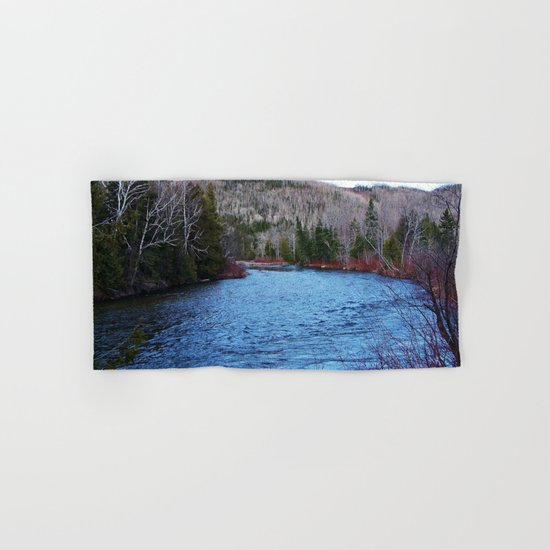 River in Nature Hand & Bath Towel