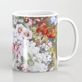 Spring riot of flowers - Courbet inspired Coffee Mug