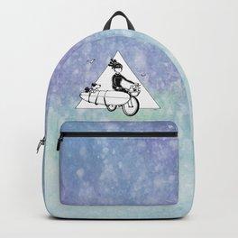 """"""" Dream. Bike. Surf """" Backpack"""