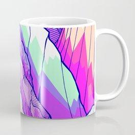 The vibrant Peak Coffee Mug
