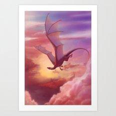 Close to heaven Art Print