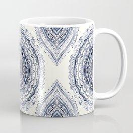 Supernova-In Navy, Dark Blue, & Grey Coffee Mug
