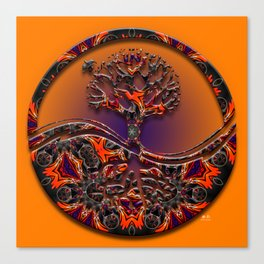 Tree Of Designs Canvas Print