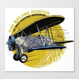 F4B biplane fighter Canvas Print