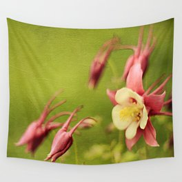 Columbine in Bloom Wall Tapestry