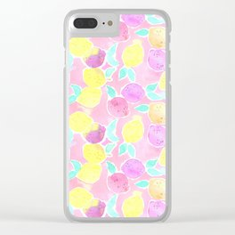 pinkie lemons Clear iPhone Case