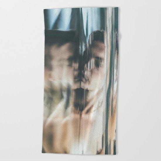 Dreams V (pixel sorted) Beach Towel